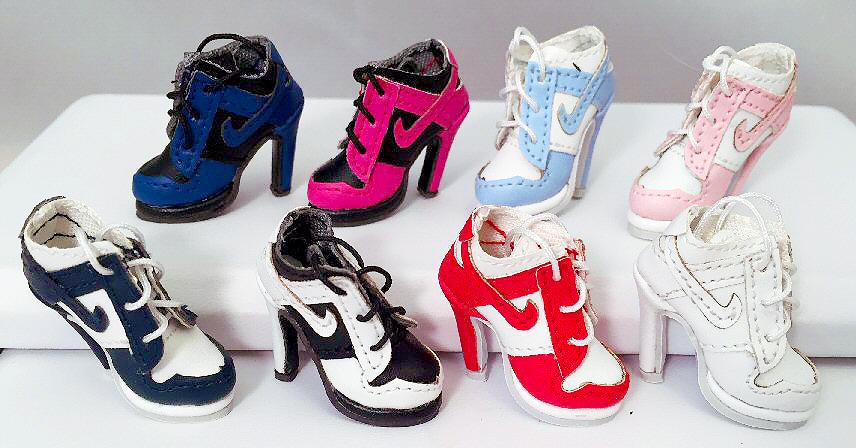 1209ef69e2c2 Swoosh Sneaker Heels (For Jem)