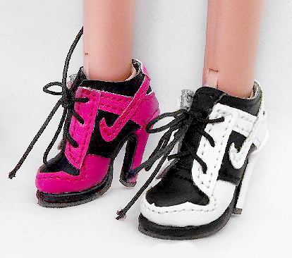 1efcb4cc6697 Swoosh Sneaker Heels (For Jem)