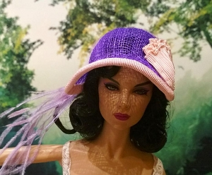 Meet Me Where the Lilacs Bloom (Hats by Gudrun)