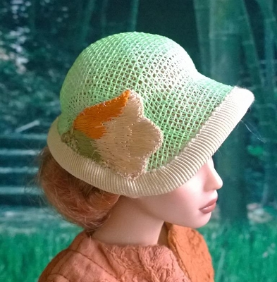 Vision in Lime Green (Hats by Gudrun)