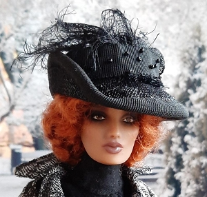 Dark & Stormy Winter Night (Hats by Gudrun)