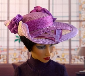 Early Violet (Hats by Gudrun)
