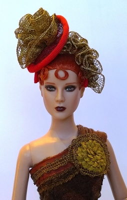 Golden Rose (Hats by Gudrun)