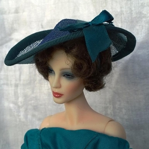 In a Blue Mood (Hats by Gudrun)