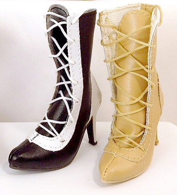 Calf Lace Boots (For American Model)