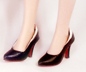 Back-Trimmed Pumps (For Ellowyne)