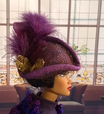 La Marquise (Hats by Gudrun)