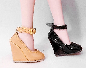 Wedge Strap Pumps (For Jem)