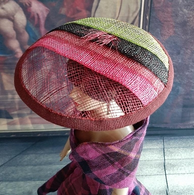 Pink Grass (Hats by Gudrun)