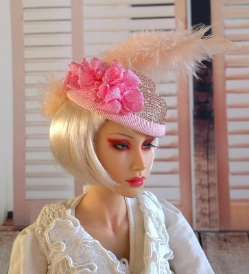 Spring Delight (Hats by Gudrun)
