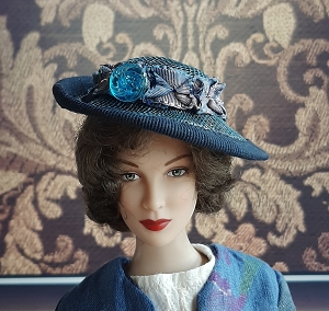 That Ladies Blues (Hats by Gudrun)