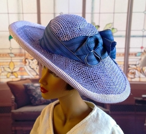 The Noble Lily (Hats by Gudrun)