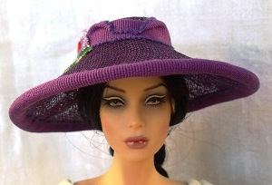 The Violet (Hats by Gudrun)