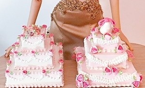 Tiered Cakes (7 Styles)