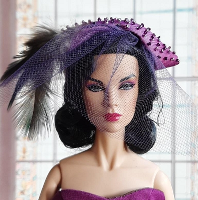 Violet Surprise (Hats by Gudrun)