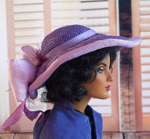 Why Not Violets (Hats by Gudrun)