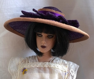A Shade of Purple (Hats by Gudrun)