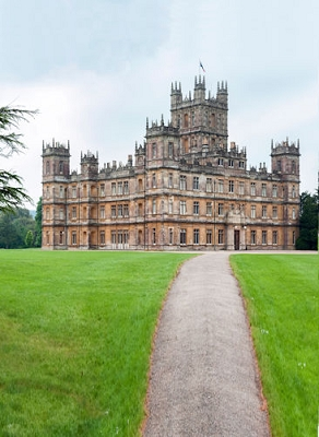 Highclere/Downton Abbey (Photo Backdrop)