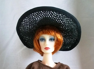 Black Allure (Hats by Gudrun)