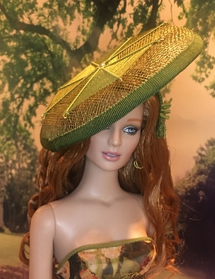 Green Spider's Web (Hats by Gudrun)