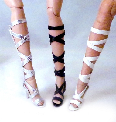 Strappy Gladiator Boots (For Tyler)