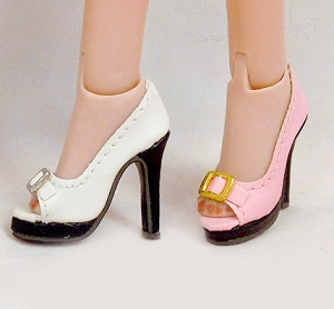 Open Toe Buckle Shoe (For Jem)