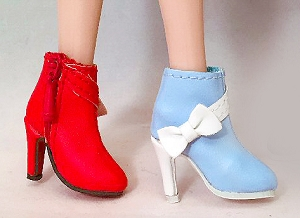 Bow Ankle Boots (For 12
