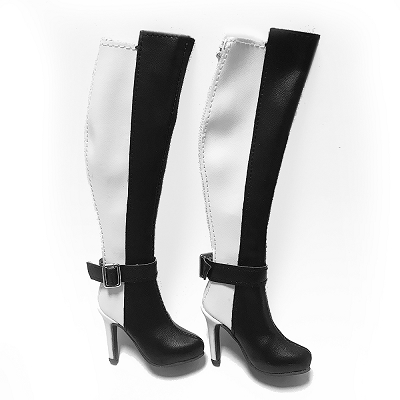 2-Tone High Boots (For 12