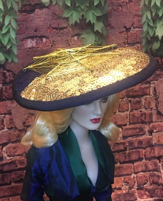 Midnight Star (Hats by Gudrun)