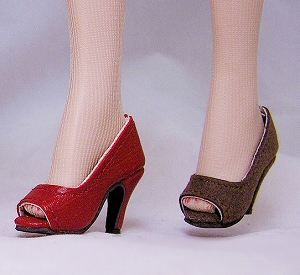 MN Open Toe Pumps (For 16