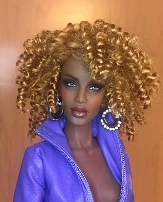 "DOLL Wig Monique /""Tanesha/"" Size 7//8 in Gold"