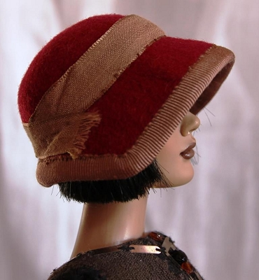 The Jazz Twist (Hats by Gudrun)