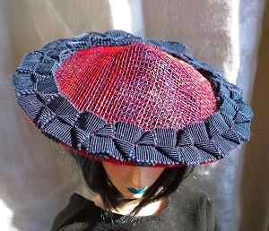 *SALE* The Red Circle (Hats by Gudrun)