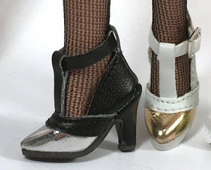 T-Strap Heels (For Fashion Royalty)