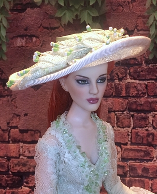 Whiter Shade of Green (Hats by Gudrun)