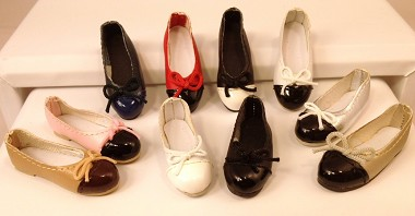2-Tone Ballerina Flats (For Flat Foot Tyler)