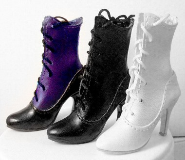Calf-Lace Victorian Boots  (For Ellowyne)