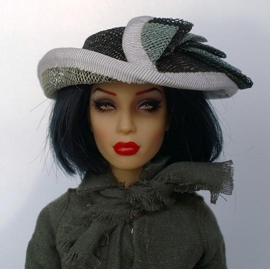 Her Doll Highness (Hats by Gudrun)