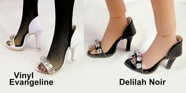Rhinestone Strap Sandals (For Dede/Deanna)