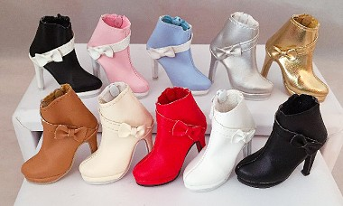 Bow Ankle Boot (For Ellowyne)