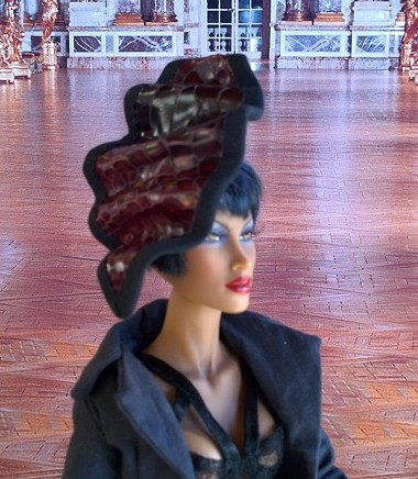 The Parlor Snake (Hats by Gudrun)
