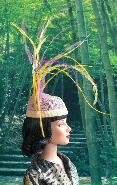 Vintage Movie Heroine (Hats by Gudrun)