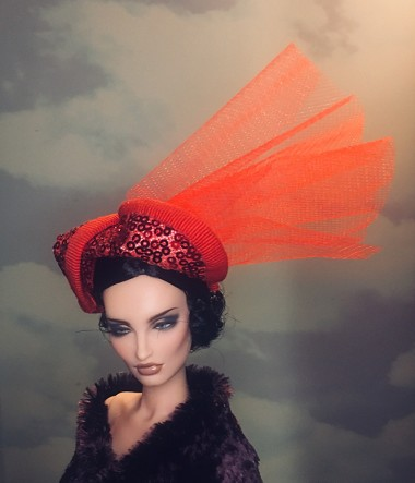 Just Red (Hats by Gudrun)