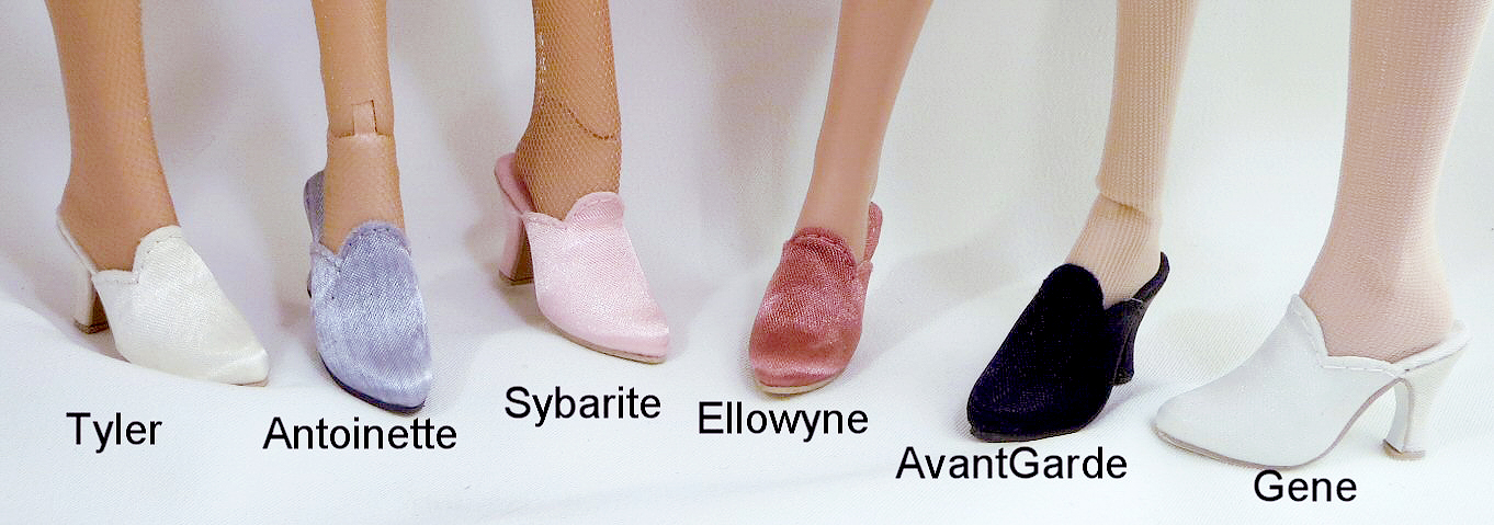 "G-2017-G-023 Shoes for 16/"" Ellowyne Wilde//Antoinette doll"