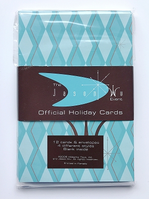 2005 Jason Wu/Royaltini Holiday Cards