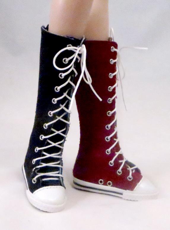 Knee-High Sneakers (For Flat Foot Tyler)