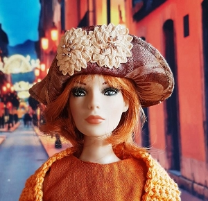 Big City Flowers (Hats by Gudrun)