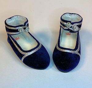 Blue/Silver Shoes by Ruby Red (Fashion Friends)