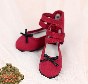 Red Ankle Straps by Ruby Red (Fashion Friends)