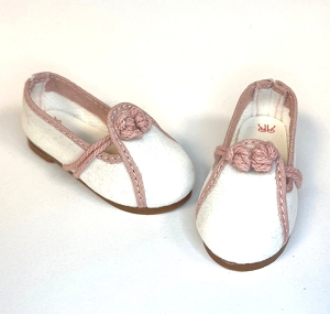White/Pink Shoes by Ruby Red (Fashion Friends)